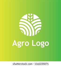 Agriculture logo. Vector nature and farming logotype.