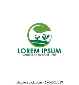 agriculture vector , farming logo vector