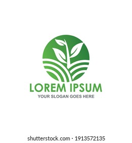 agriculture vector , nature leaf logo