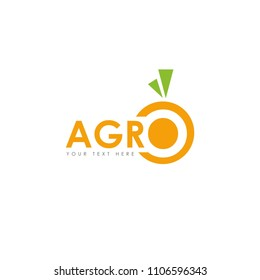 Agro. Template for logo.