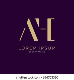 AH logo design