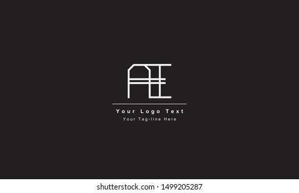AI or IA logo. Unique attractive creative modern initial AI IA A I initial based letter icon logo