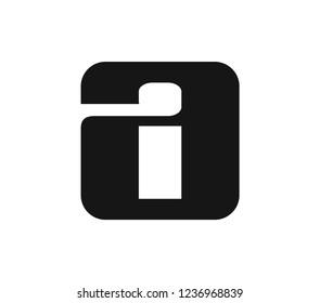 ai monograph initial logo