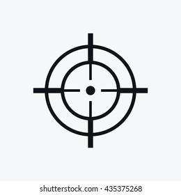 Aim target pointer