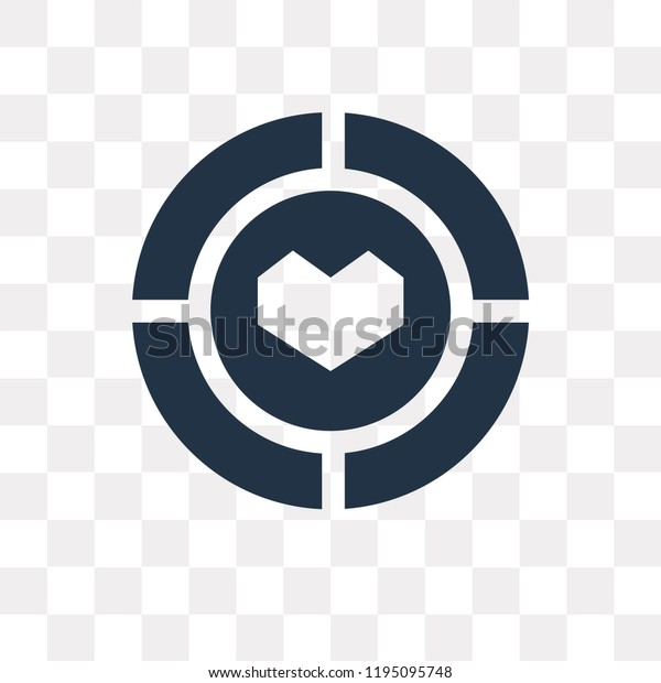 aim vector icon isolated on transparent stock vector royalty free 1195095748 shutterstock