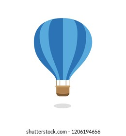 Air ballon. Cartoon style. Funny drawing for children