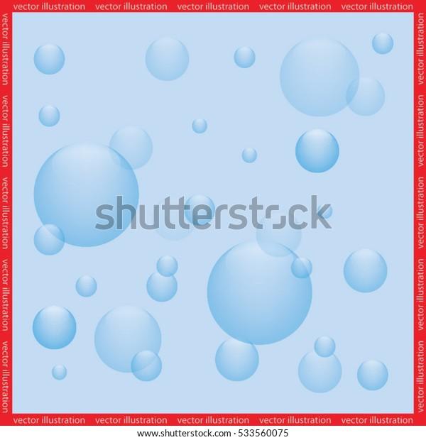 air bubbles icon vector illustration eps10.