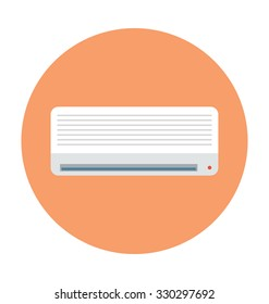 Air Conditioner Colored Vector Icon