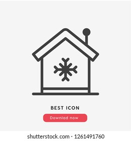 air conditioner home  icon vector