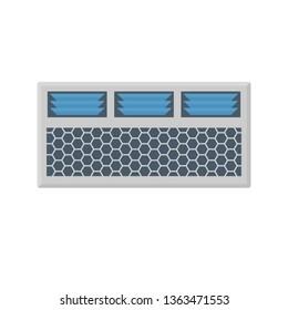 Air conditioner icon design.