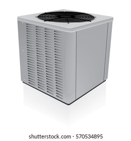 Air conditioner outdoor system vector