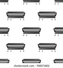 Air conditioner seamless pattern. Vector illustration for backgrounds