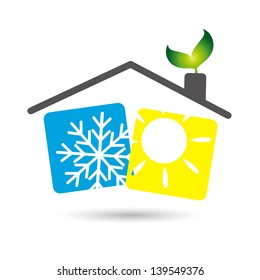 air conditioning in the house, the design of business