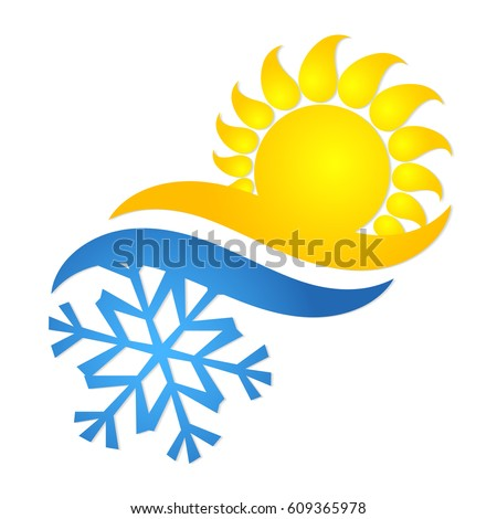 Air Conditioning Ventilation Symbol Business Stock Vector Royalty