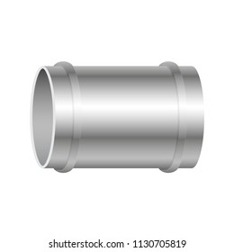 Air duct vector design isolated on white background.