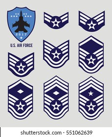 Air Force Stripes (Enlisted)
