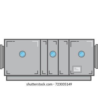 Air Handling Unit Vector