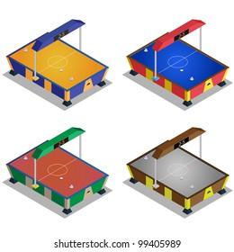 Air hockey machine