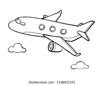air plane drawing