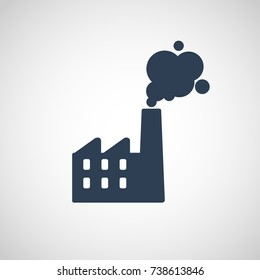 Air Pollution vector logo icon illustration