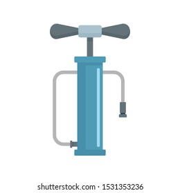 Air pump icon. Flat illustration of air pump vector icon for web design