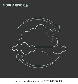 Air purification icon line element. Vector illustration of air purification icon line isolated on clean background for your web mobile app logo design.