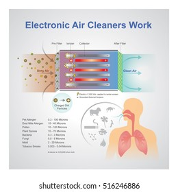 An air purifier is a device which removes contaminants from the air in a room.
