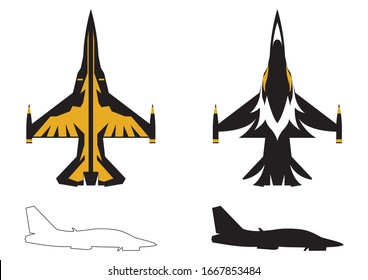 air show zet plane vector icon