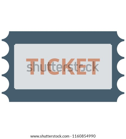 air ticket vector icon editable stock vector royalty free