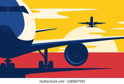 Airline Images, Stock Photos & Vectors | Shutterstock