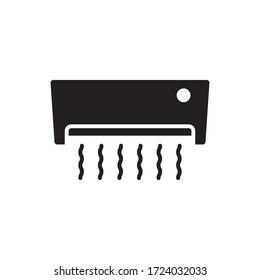 airconditoner icon vector symbol template
