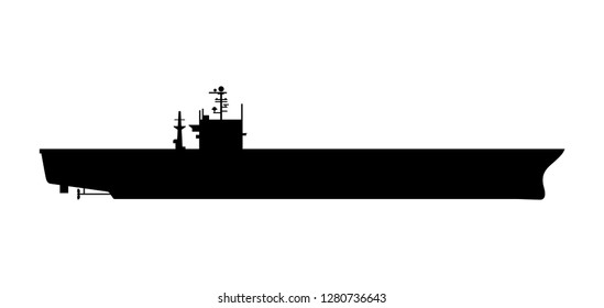 Aircraft carrier warship