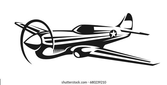 aircraft war-hawk illustration