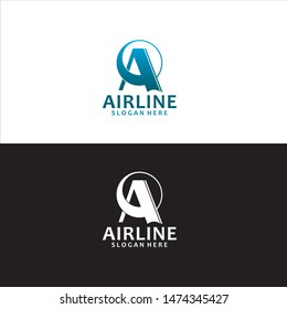 Airline A Logo in Vector
