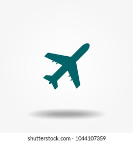 Airplan icon vector