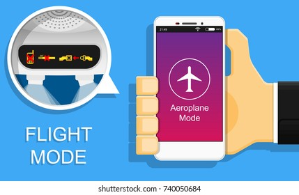 Airplane Aeroplane Flight Offline Mode Passenger Regulation Airline