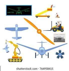 Aircraft Propeller Vector Görseller, Stok Fotoğraflar ve