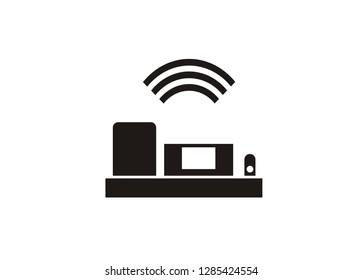 airplane black box simple icon