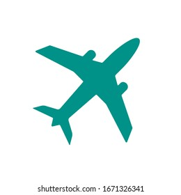 Airplane icon. Airport symbol. Vector illustration