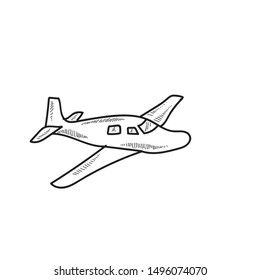 Airplane icon design clipart design