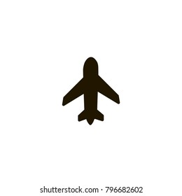 airplane icon. sign design