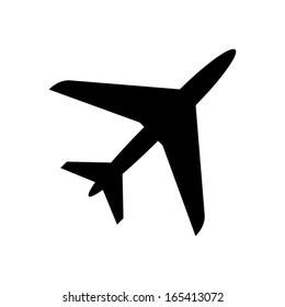 Airplane Icon - vector