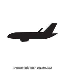 airplane icon- vector illustration
