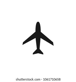 Airplane icon.Plane vector. Transportation sign isolated on white background.Simple airplane mode illustration for web and mobile platforms.