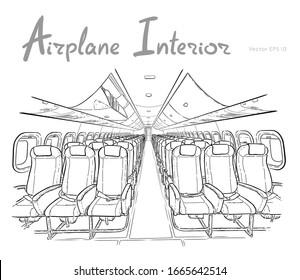 Airplane Window Sketch Images Stock Photos Vectors Shutterstock