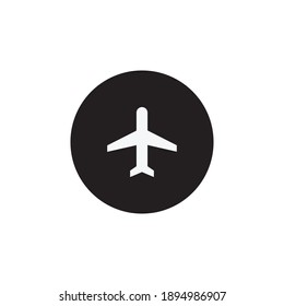 Airplane Mode Icon Vector. Plane Symbol Illustration