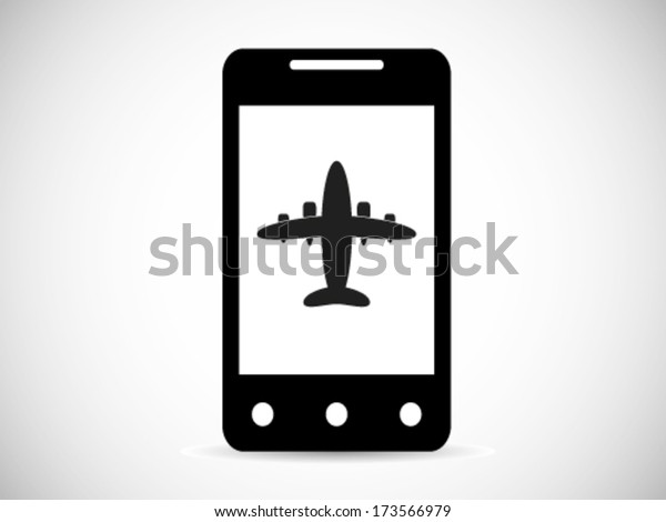 Airplane Mode Smart Phone