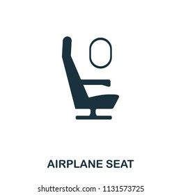 Airplane Seat icon. Line style icon design. UI. Illustration of airplane seat icon. Pictogram isolated on white. Ready to use in web design, apps, software, print