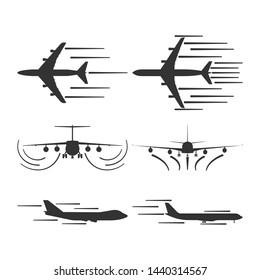 Jet Taking Off Stock Vectors, Images & Vector Art   Shutterstock