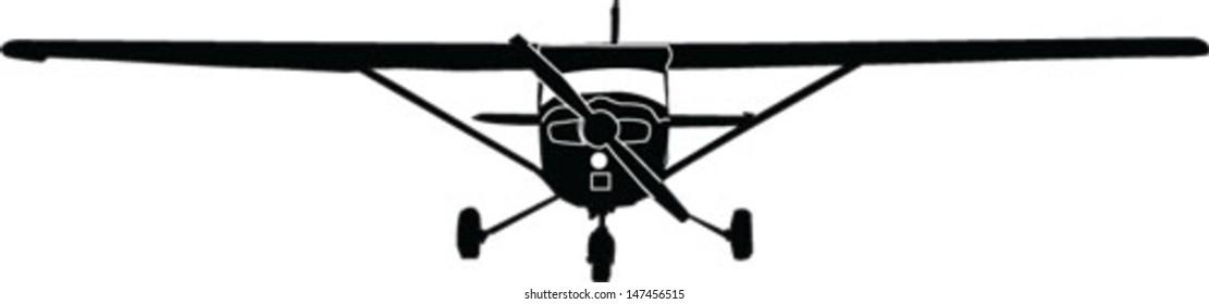 airplane vector - vector